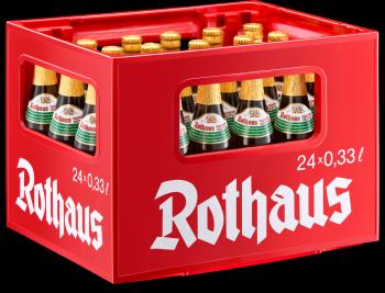 Rothaus Pils Tannenzäpfle 24 x 0,33 Liter (Glas/Mehrweg)