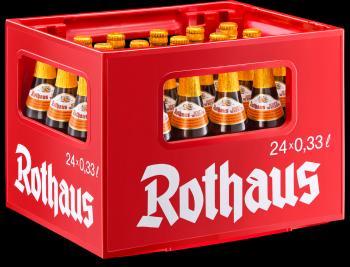 Rothaus Hefeweizen Zäpfle 24 x 0,33 Liter (Glas/Mehrweg)