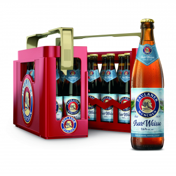 Paulaner Isar Weisse 20 x 0,5 Liter (Glas/Mehrweg)