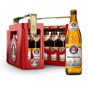 Paulaner Münchner Hell 20 x 0,5 Liter (Glas/Mehrweg)