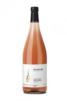 Fellbacher Weingärtner Trollinger Weißherbst QbA fruchtig 1,0 Liter (Glas/Mehrweg)