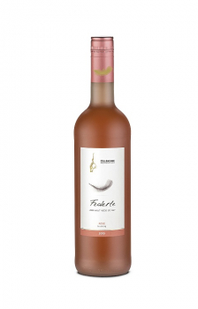Fellbacher Weingärtner FEDERLE Rosé fruchtig 0,75 Liter (Glas/Pfandfrei)