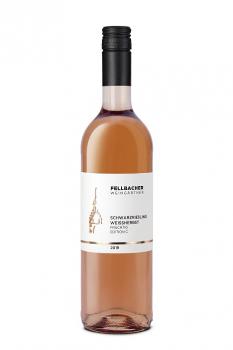 Fellbacher Weingärtner Schwarzriesling Weißherbst C fruchtig 0,75 Liter (Glas/Pfandfrei)