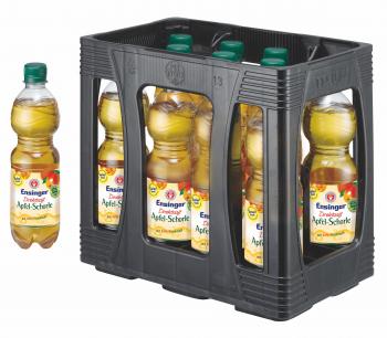 Ensinger Direktsaft Apfel-Schorle 11 x 0,5 Liter (PET/Mehrweg)