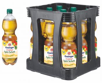 Ensinger Direktsaft Apfel-Schorle 9 x 1 Liter (PET/Mehrweg)