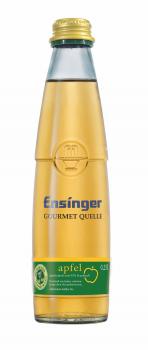 Ensinger Gourmet Apfelschorle 24 x 0,25 Liter (Glas/Mehrweg)