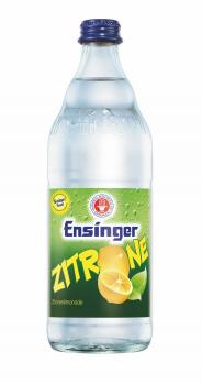 Ensinger Zitrone 12 x 0,5 Liter (Glas/Mehrweg)