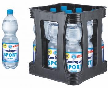 Ensinger Sport Medium 9 x 1,0 Liter (PET/Medium)
