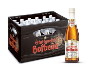 Stuttgarter Hofbräu Herren Pils 24 x 0,33 Liter (Glas/Mehrweg)