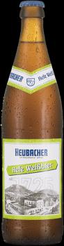 Heubacher Hefe Weißbier 20 x 0,5 Liter (Glas/Mehrweg)