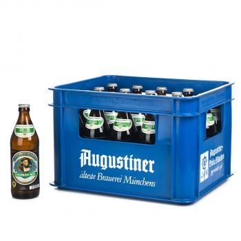 Augustiner Bräu Lagerbier Hell 20 x 0,5 Liter (Glas/Mehrweg)
