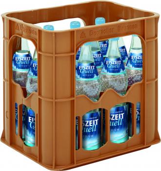 EiszeitQuell Medium 12 x 0,7 Liter (Glas/Mehrweg)