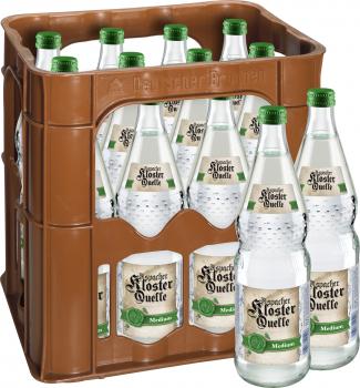 Aspacher Klosterquelle Medium 12 x 0,7 Liter (Glas/Mehrweg)