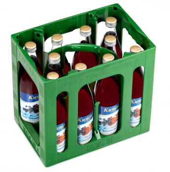 Kumpf Apfel-Johannisbeer-Schorle 10 x 0,5 Liter (Glas/Mehrweg)