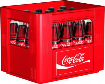 Coca-Cola Zero 20 x 0,5 Liter (Glas/Mehrweg)
