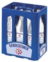 Gerolsteiner Sprudel 6 x 1,0 Liter (Glas/Mehrweg)