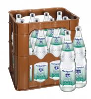 Markgrafen Mineralwasser Medium 12 x 0,7 Liter (Glas/Mehrweg)