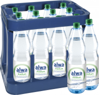 Alwa medium 12 x 1,0 Liter (PET/Mehrweg)