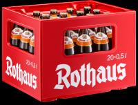 Rothaus Hefeweizen Zäpfle 20 x 0,5 Liter (Glas/Mehrweg)