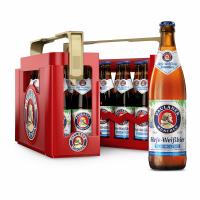 Paulaner Hefe-Weißbier Alkoholfrei 20 x 0,5 Liter (Glas/Mehrweg)