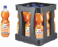 Ensinger Orange ACE 9 x 1,0 Liter (PET/Mehrweg)