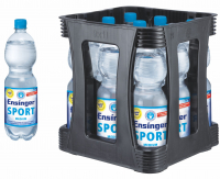 Ensinger Sport Medium 9 x 1,0 Liter (PET/Medium)