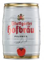 Stuttgarter Hofbräu Pilsner Party Fass 5 Liter (Einweg)