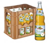 Teinacher Direktsaftschorle Apfel 12 x 0,7 Liter (Glas/Mehrweg)