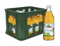 Teinacher Direktsaftschorle Apfel 12 x 0,5 Liter (Glas/Mehrweg)