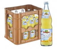 Teinacher Limo Light Orange 12 x 0,7 Liter (Glas/Mehrweg)