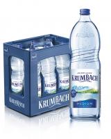 Krumbach Medium 6 x 1,0 Liter (Glas/Mehrweg)