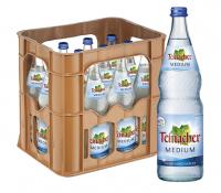 Teinacher Medium 12 x 0,7 Liter (Glas/Mehrweg)
