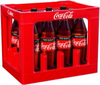 Coca-Cola Zero 12 x 1,0 Liter (PET/Mehrweg)