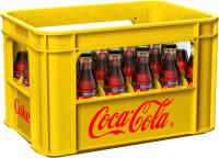 Coca-Cola Zero 24 x 0,2 Liter (Glas/Mehrweg)