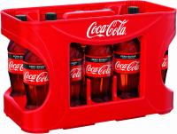 Coca-Cola Zero 12 x 0,5 Liter (PET/Mehrweg)