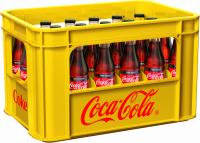 Coca-Cola Zero 24 x 0,33 Liter (Glas/Mehrweg)